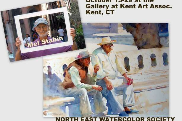 The North East Watercolor Society will hold its 41st International Exhibition in Kent. The show opens Sunday, Oct. 15 and continues through Oct. 29.