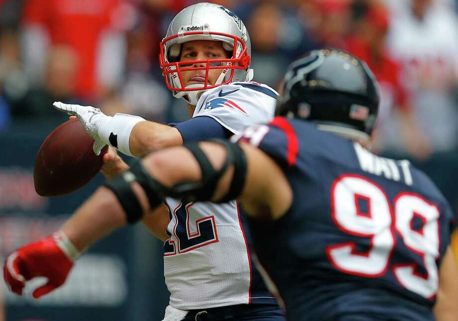 PHOTOS: Texans 13, Bengals 9Coach Bill O'Brien says the Texans' defense has to be ready for the Patriots' up-tempo offense.Browse through the photos to see action from the Texans' Week 2 win over the Bengals. Photo: Boston Globe, Contributor / 2013 - The Boston Globe - The Boston Globe