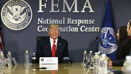 "On Sept. 8, President Donald Trump tweeted, ""Churches in Texas should be entitled to reimbursement from FEMA Relief Funds for helping victims of Hurricane Harvey (just like others)."""
