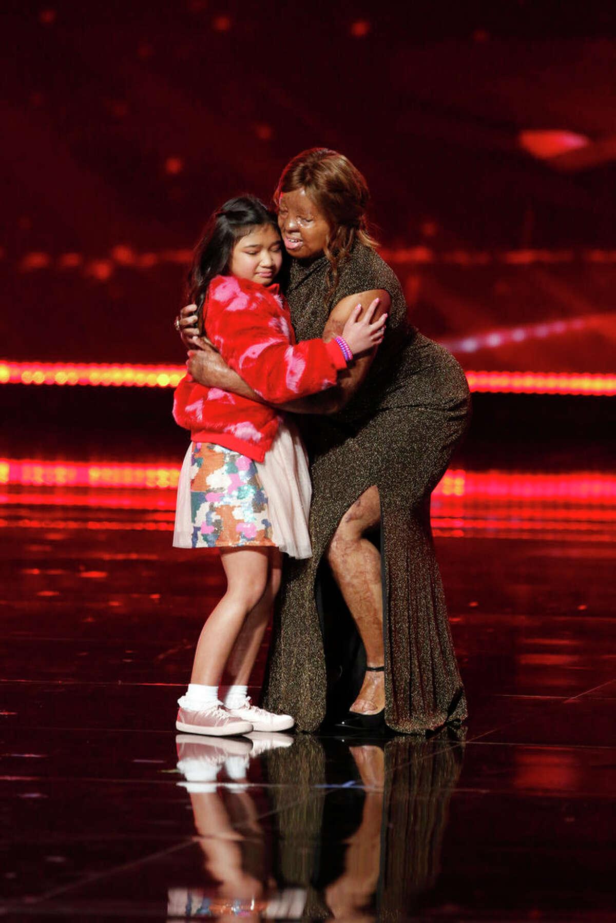 Kechi on the 'America's Got Talent' finale.