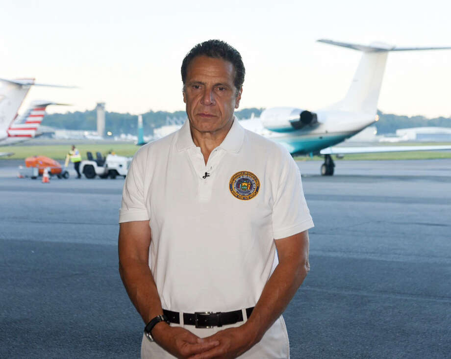 Gov. Andrew Cuomo travels to the U.S. Virgin Islands on an assessment tour and recovery mission on Friday, Sept. 15, 2017. (Office of the Governor)