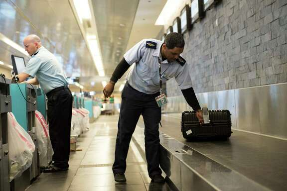 """Customers who paid for checked bags paid more on average for the combined airfare and bag fee than when the airfare and bag fee were bundled together,"" the Government Accountability Office says."
