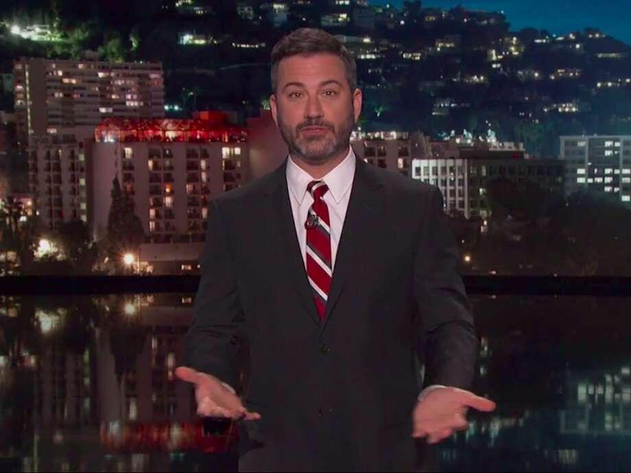 """Jimmy Kimmel on """"Jimmy Kimmel Live."""" (ABC)"""