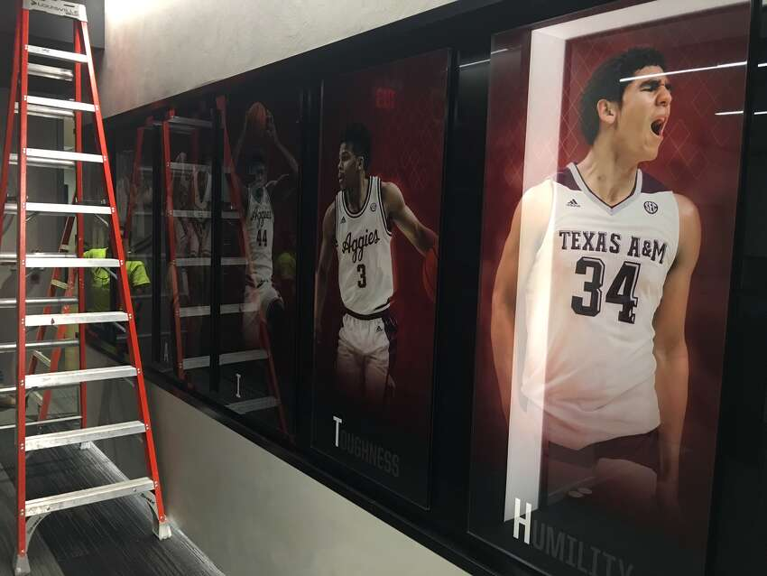 PHOTOS: Check out Texas A&M's new basketball locker roomA look at the Texas A&M basketball locker room after a $6 million renovation heading into the 2017-18 season.
