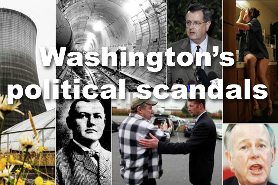 Time has made some of Washington's political scandals seem oddly quaint. Others are unforgivable. Most are just strange. Check them out. Photo: SeattlePI