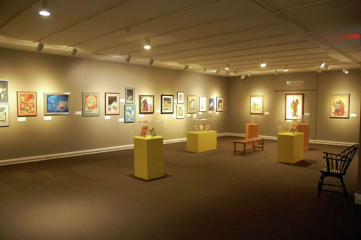 Sixty-eight pieces from the Korshak Collection, Illustrations in Imaginative Literature, will be on display at the Stamford Museum & Nature Center from Friday to Oct. 29