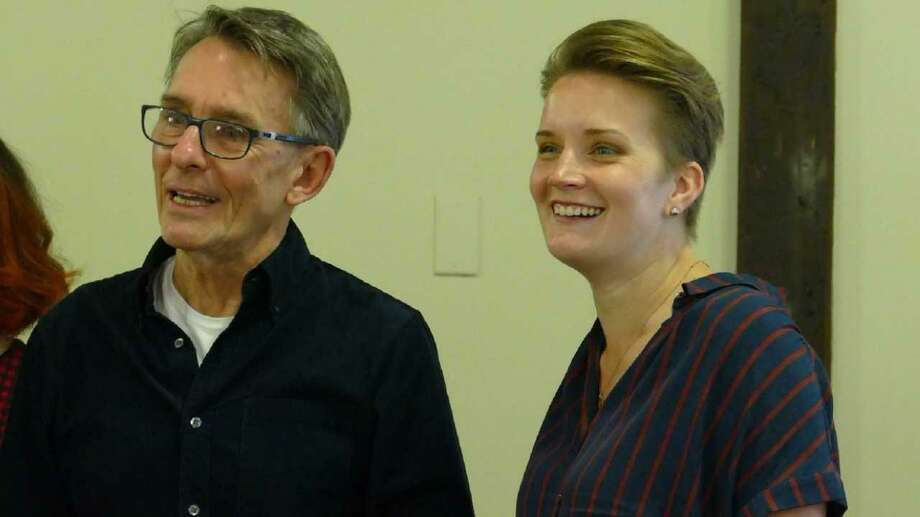 "Mark Lamos (left) and Katherine M. Carter, who are directing the Westport Country Playhouse's fall shows. Carter is directing ""Sex With Strangers"" which premieres Sept. 26 and Lamos is directing ""Romeo and Juliet"" which opens Oct. 31. Photo: Contributed Photo / New Canaan News contributed"