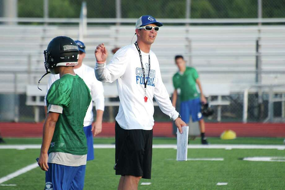 Clear Springs head football coach Craig Dailey says his team faces a big challenge in taking on Spring Westfield Friday. / Kirk Sides