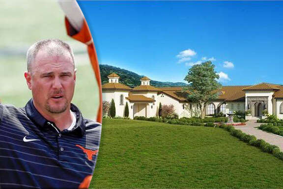 Former University of Houston football coach Tom Herman has purchased this newly-built $6 million mansion in Austin, where he is now the head football coach of the University of Texas.