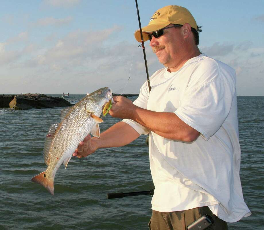 Autumn offers plenty of options for Texas anglers, including what promises to be excellent redfish fishing in coastal bays (left) and the year's best float-fishing for species such as Guadalupe bass. Photo: Shannon Tompkins