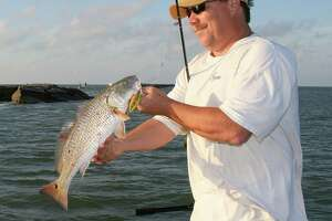 Autumn offers plenty of options for Texas anglers, including what promises to be excellent redfish fishing in coastal bays (left) and the year's best float-fishing for species such as Guadalupe bass.