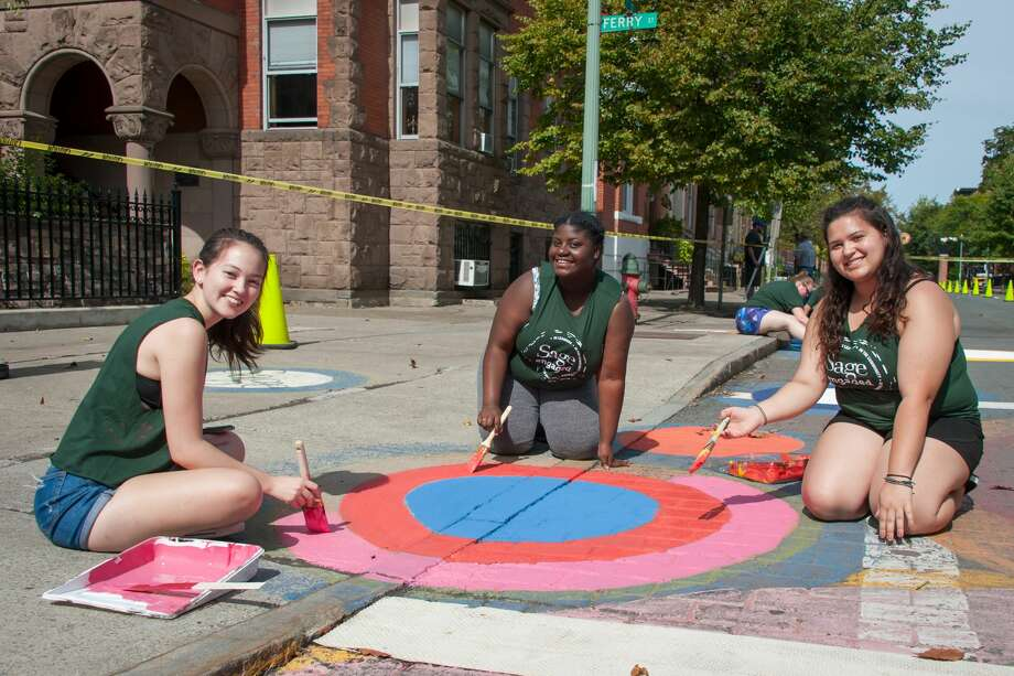 Were you Seen at Sage Engaged, a day of service for the Sage Colleges campus community, around Albany and Troy on Sept. 20, 2017? Photo: Tamara Hansen_ The Sage Colleges
