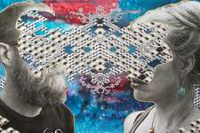 """Local artists Amanda and Elliott Lunson merged their artistic styles together in their new show """"Appareality."""""""