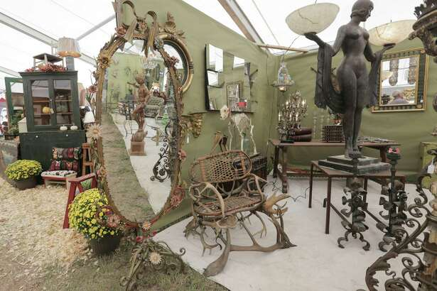 Dealers from around the country put a lot of thought and creativity into their booths at  Marburger Farm Antique Show  in Round Top. It's a great place to get ideas.