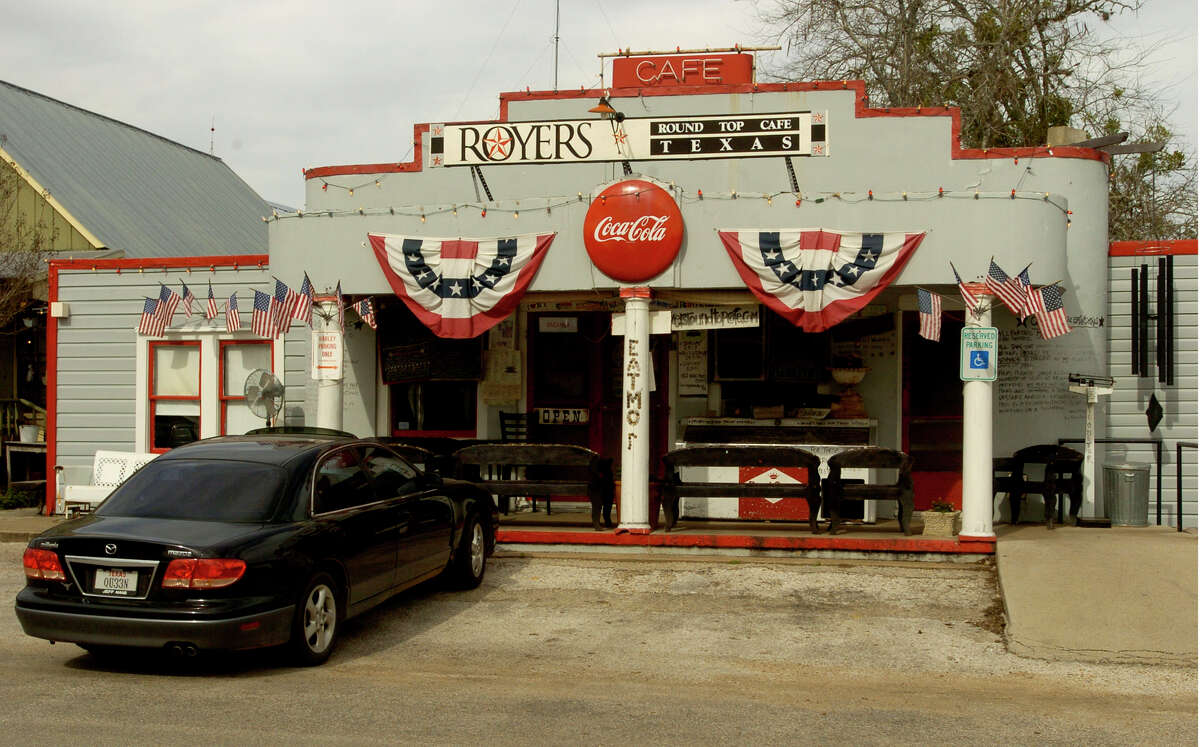 Royer's Cafe in Round Top is known for great meals and even better pie. If you want to eat there, you'll need a reservation.