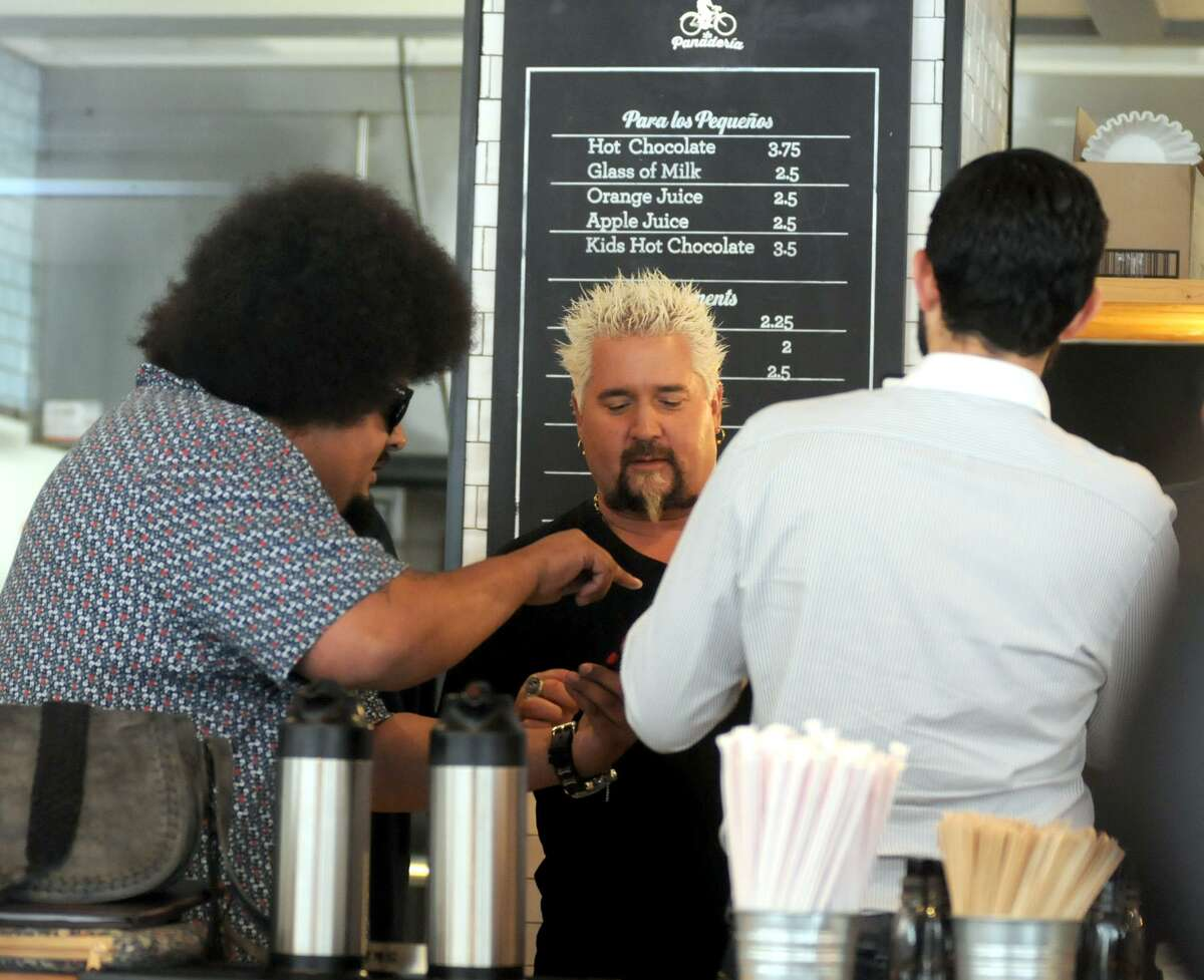 """Food Network star Guy Fieri has brought national to La Panadería on the Food Network show """"Diners, Drive-Ins and Dives."""""""
