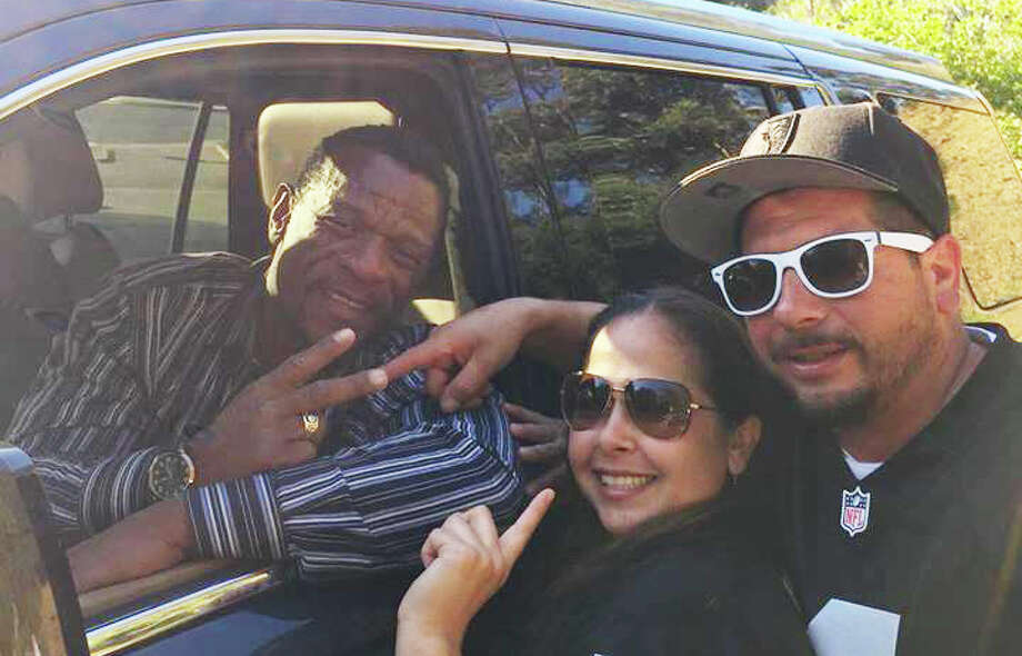 Jessica Herrera says the man who answered her brother's lost phone was A's great Rickey Henderson. Photo: Jessica Herrera