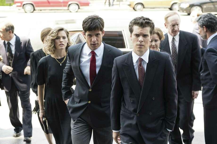 "Miles Gaston Villanueva and Gus Halper portray defendants Lyle and Erik Menendez in ""Law & Order True Crime: The Menendez Murders"" on NBC. Photo: Justin Lubin /NBC / 2017 NBCUniversal Media, LLC"