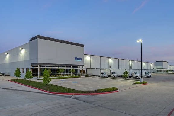 Apex Distribution Center, located near Tanner Road and West Sam Houston Parkway in northwest Houston, contains three buildings and is 86.2 percent leased. WPT Industrial Real Estate Investment Trust purchased the property from Crow Holdings Industrial.