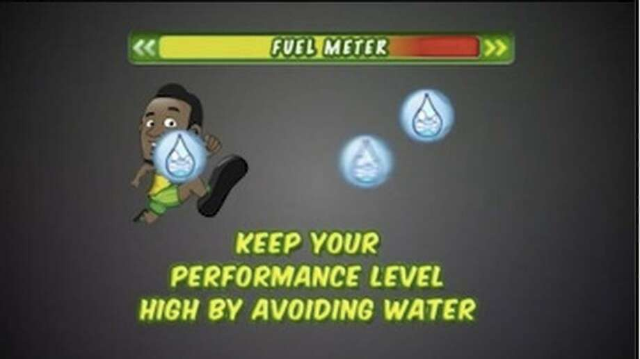 "The state attorney general said the ""Bolt"" game's water message was ""morally wrong"" and misleading to children."