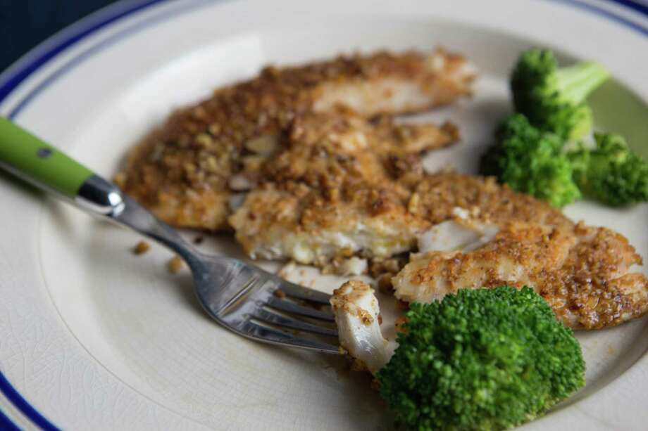 Pecan Crusted Tilapia. Photo: Photo By Jennifer Chase For The Washington Post. / For The Washington Post