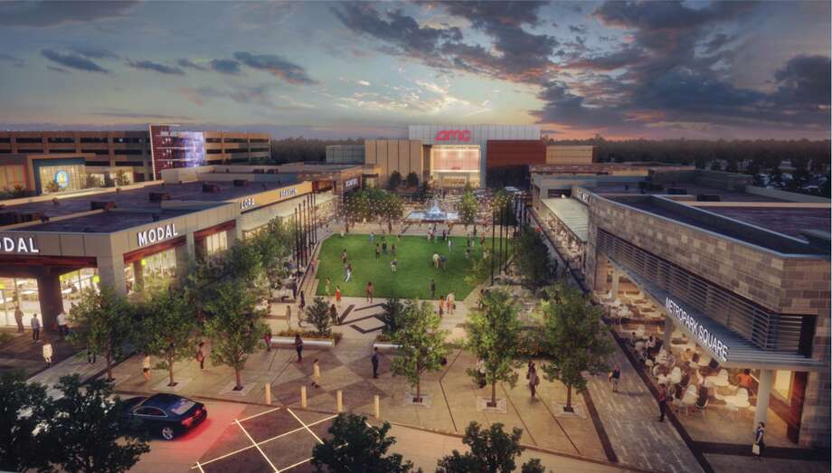 AMC Theatres has signed on as an anchor tenant in MetroPark Square, a 69-acre development east of Interstate 45 and south of Texas 242 in   Shenandoah. The 10-screen, 41,500-square-foot theater is expect to open in early 2018, according to real estate firm Baker Katz. The Retail Connection represented the owner, Daniel Moon with Sam Moon Group. Photo: Baker Katz