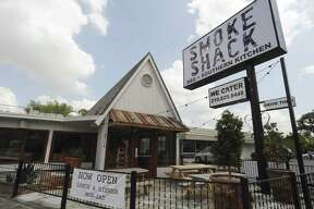 Chris and Kate Conger's popular barbecue trailer evolved into The Smoke Shack in 2014 at 3714 Broadway.