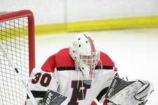 Fairfield co-op goaltender Charlie Capalbo