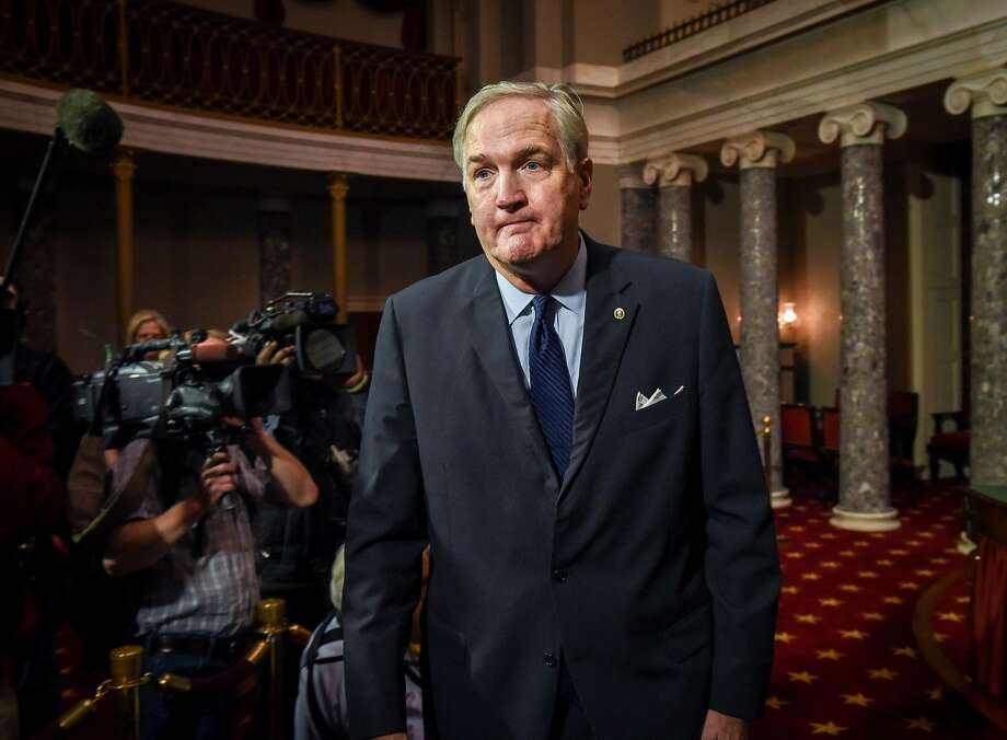 Sen. Luther Strange has President Trump's support but not the backing of many hard-line Republicans. Photo: Bill O'Leary, The Washington Post