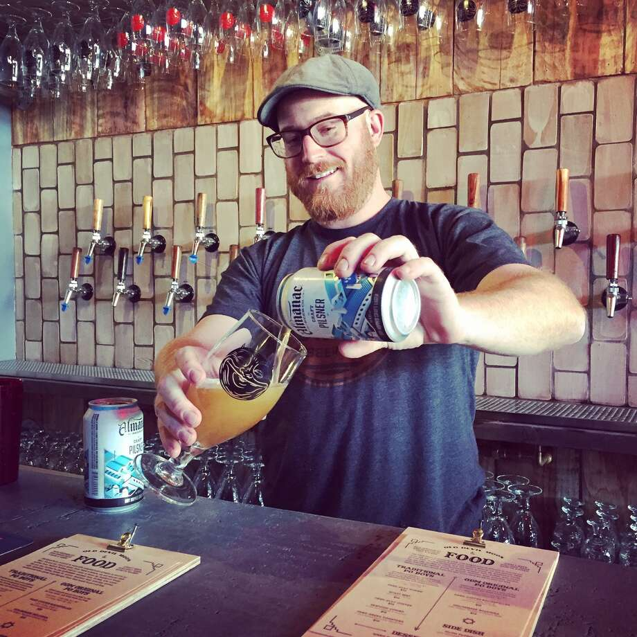 Old Devil Moon in San Francisco is turning a year old. Pictured is owner Chris Cohen. Photo: Courtesy Old Devil Moon