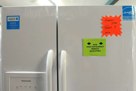 File photo of an Energy Star-rated refrigerator in New York.
