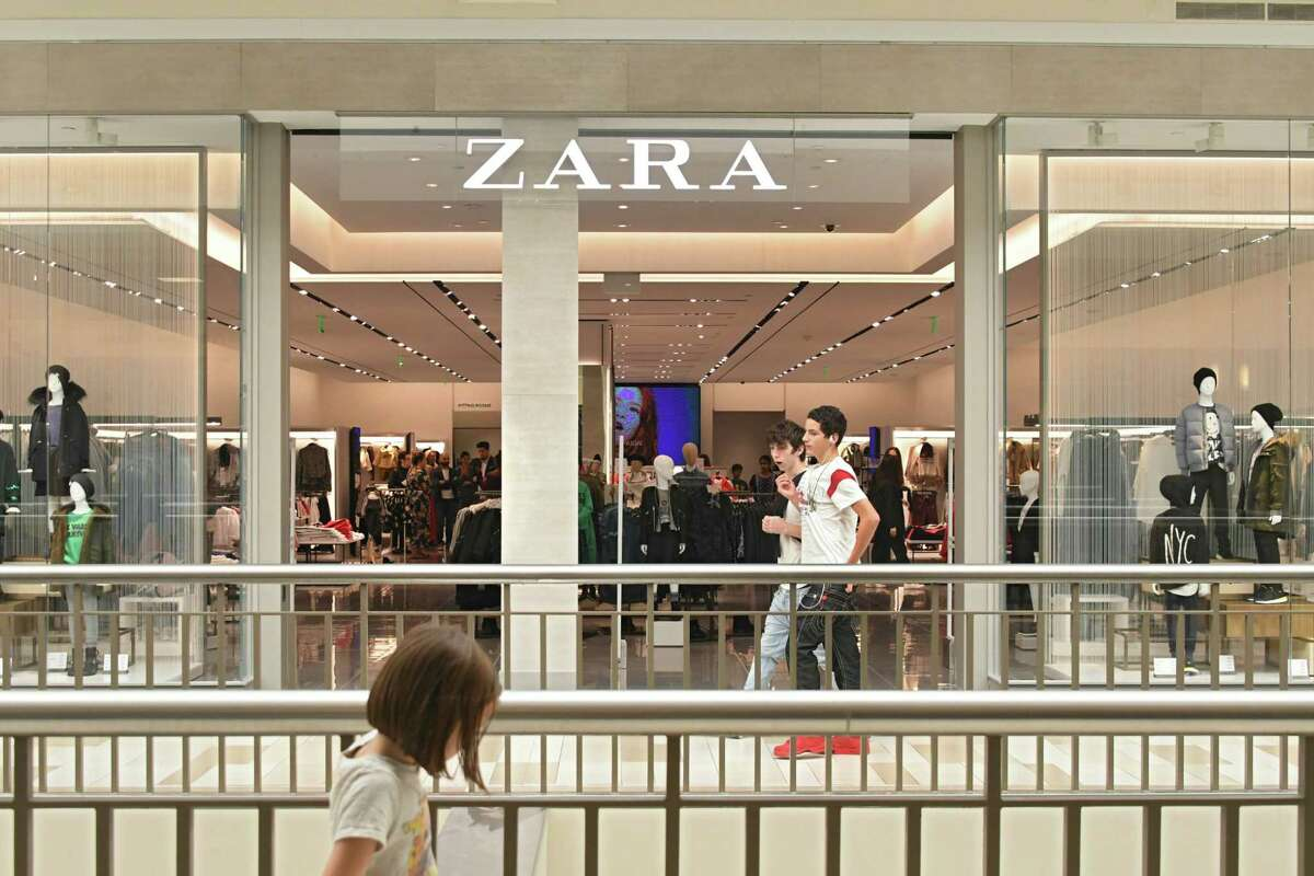 Exterior of the upstairs kids section of Zara on opening day at Crossgates Mall on Thursday, Sept. 21, 2017 in Albany, N.Y. Zara is a two-level European fashion store. (Lori Van Buren / Times Union)