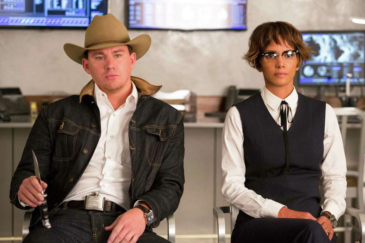 This image released by Twentieth Century Fox shows Channing Tatum, left, and Halle Berry in