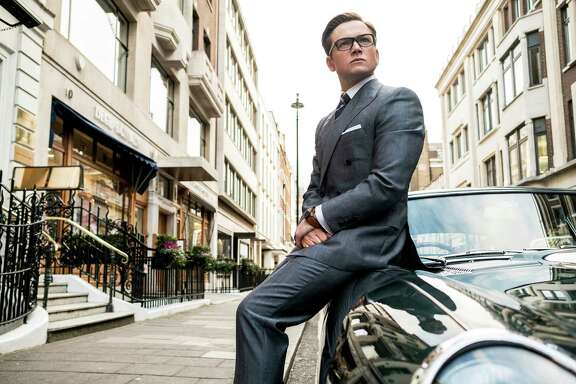"Taron Egerton returns as British agent Eggsy in ""Kingsman: The Golden Circle."""