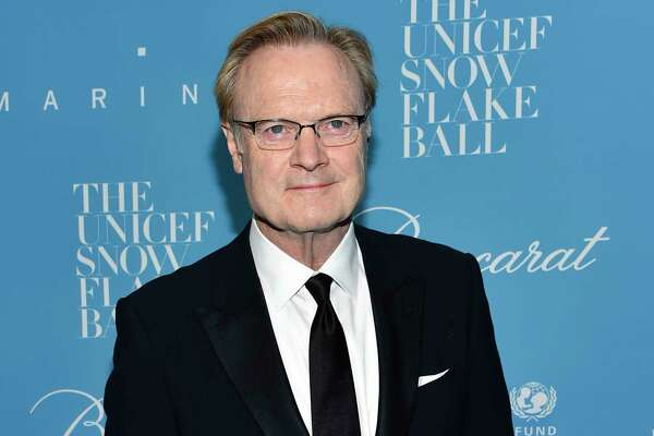 FILE - In this Nov. 29, 2016, file photo, Lawrence O'Donnell attends the 12th Annual UNICEF Snowflake Ball in New York. The MSNBC anchor apologized on Sept. 20, 2017, after clips surfaced of him profanely yelling at staffers in between segments of his prime-time program.(Photo by Evan Agostini/Invision/AP, File)