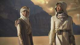 "Michelle Yeoh portrays Capt. Philippa Georgiou and Sonequa Martin-Green is First Officer Michael Burnham in the groundbreaking and diverse new ""Star Trek: Discovery,"" which debuts Sunday on CBS and CBS All Access."