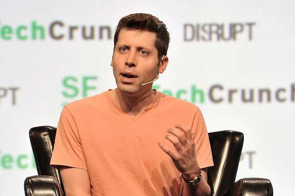 SAN FRANCISCO, CA - SEPTEMBER 19:  Y Combinator President Sam Altman speaks onstage during TechCrunch Disrupt SF 2017 at Pier 48 on September 19, 2017 in San Francisco, California.  (Photo by Steve Jennings/Getty Images for TechCrunch)