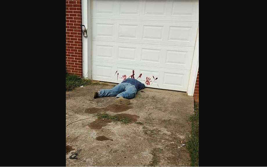 Halloween spiritA Tennessee police department is warning residents not to call 911 if they spot a local, gruesome Halloween decoration. See how Television personalities went all out for Halloween last year.