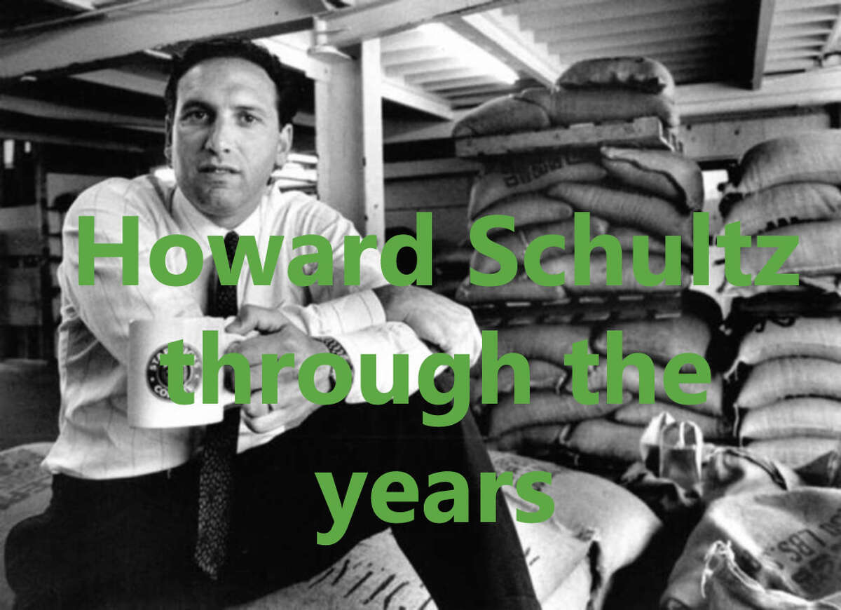 Scroll through the slideshow to see how Howard Schultz and his Starbucks empire have grown through the years.