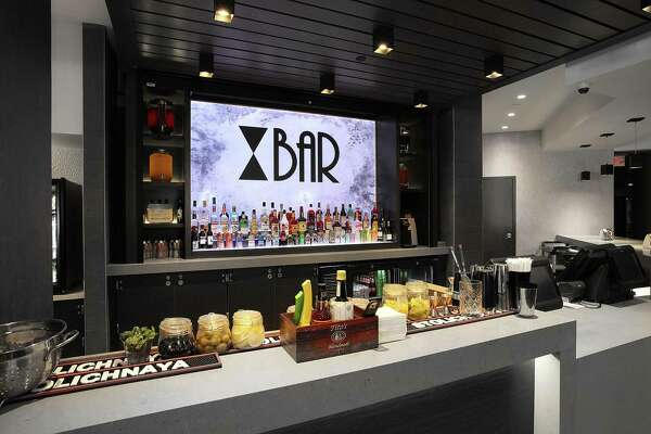 The Bowtie bar features its own cocktail, the Bow Tai.