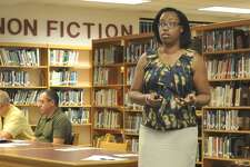 Torrington Director of Student Services Le'Tanya Lawrence provided an overview of special education services in the district to the Board of Education Wednesday.