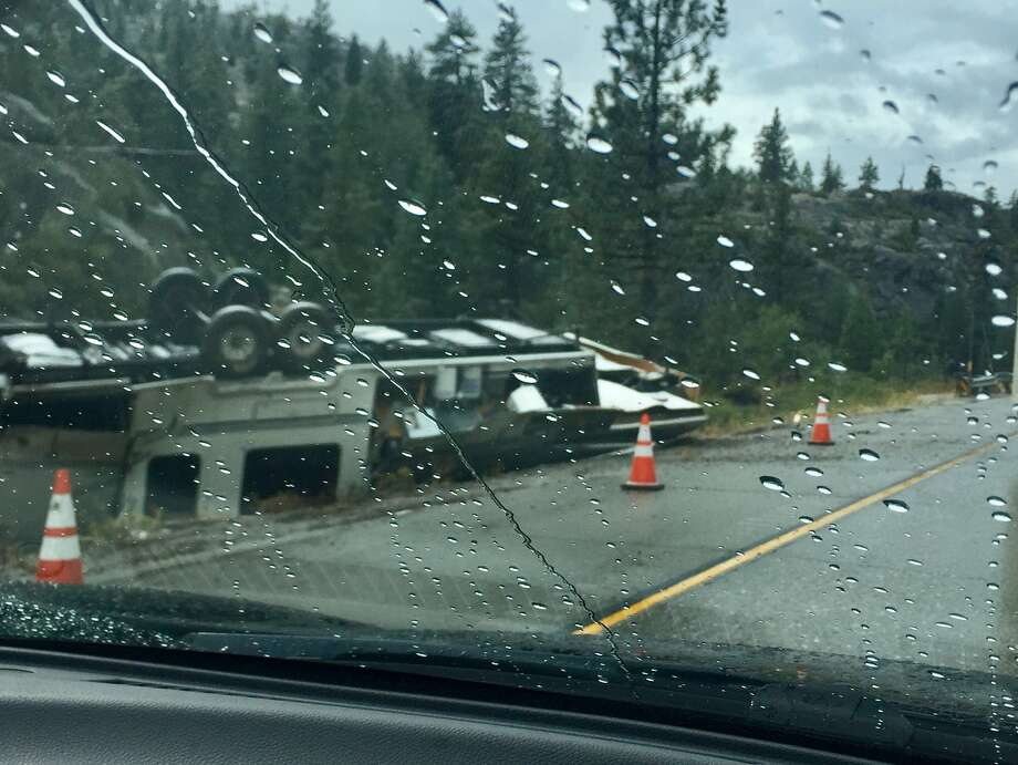 I-80 was closed Thursday after a deadly crash. Photo: Susan Safipour