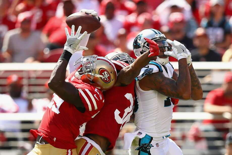 49ers S Tartt leaves with head injury, FB Juszczyk ruled out