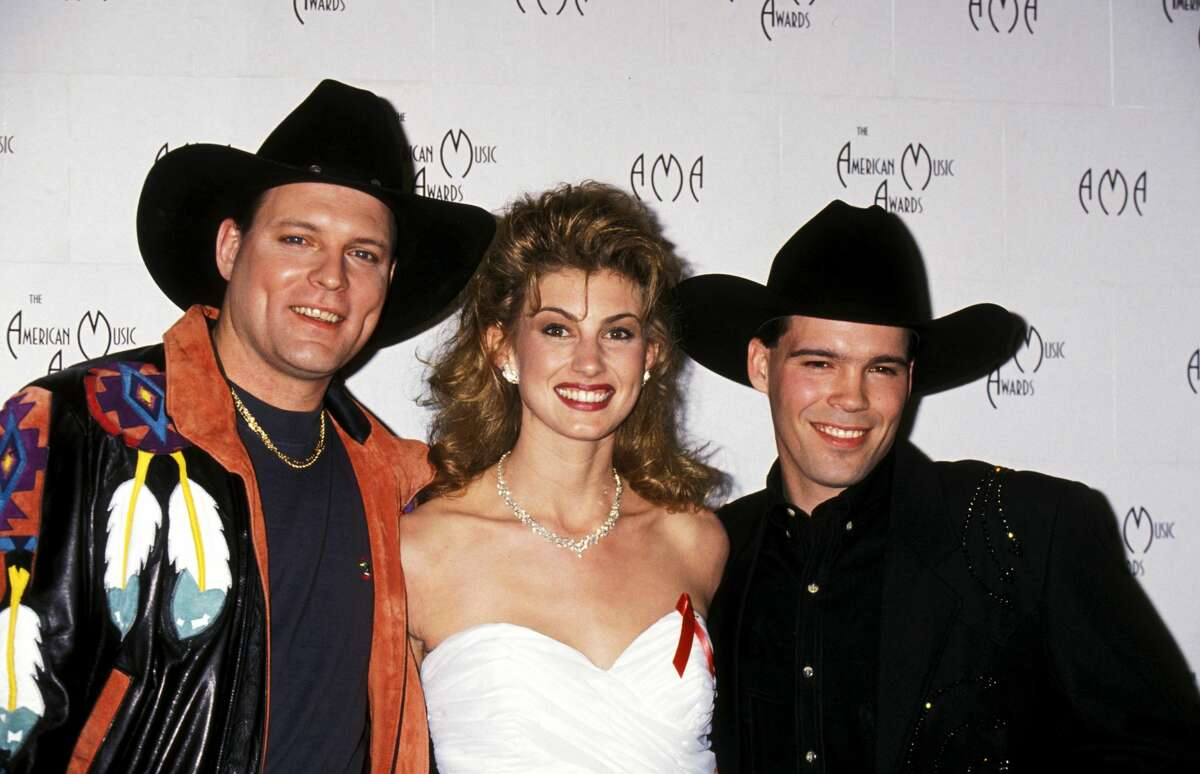 John Michael Montgomery, Faith Hill, and Clay Walker (Photo by Ron Galella/WireImage)