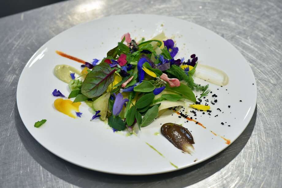 """This is """"Le Gargouillou"""" by chef Sebastien Bras, the son of Michel Bras. Photo: REMY GABALDA/AFP/Getty Images"""