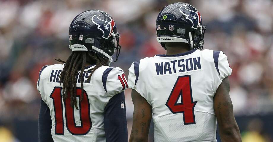 PHOTOS: Texans 13, Bengals 9Opponents know quarterback Deshaun Watson is going to throw the ball to DeAndre Hopkins.Browse through the photos to see action from the Texans' Week 2 win over the Bengals. Photo: Michael Ciaglo/Houston Chronicle