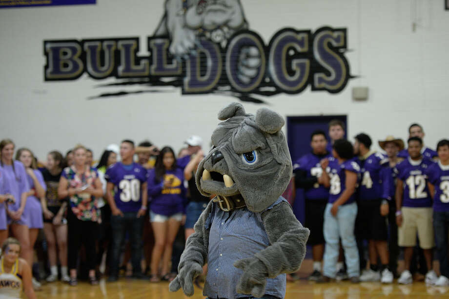 "Midland High mascot ""Spike"" during the homecoming pep rally Sept. 21, 2017, at MHS. James Durbin/Reporter-Telegram Photo: James Durbin"
