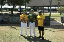 Laredo Community College baseball players (from left) Ricardo Villarreal, Juliann Hinojosa and Angel De La Paz were selected to play in the Texas-New Mexico All Star Game.