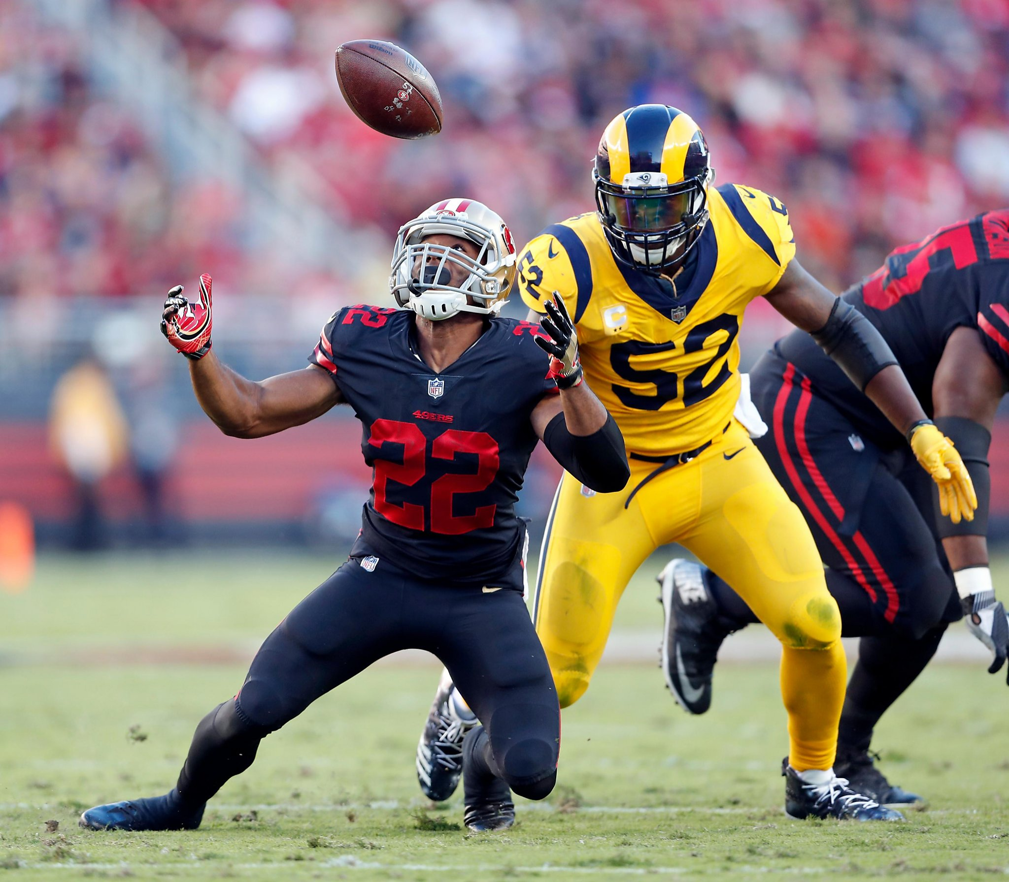 49ers Rally Falls Short S F Loses 41 39 To Rams Sfgate