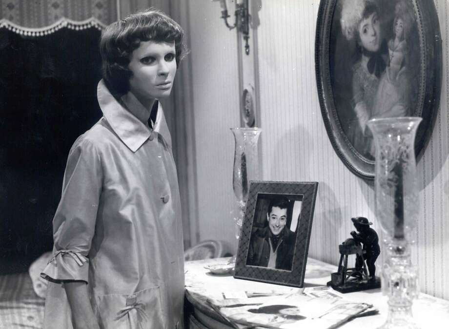 """Edith Scob in Georges Franju's thriller """"Eyes Without a Face."""" Photo: COURTESY PHOTO"""